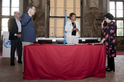 New Senior UN Officials Sworn in at Turin Retreat