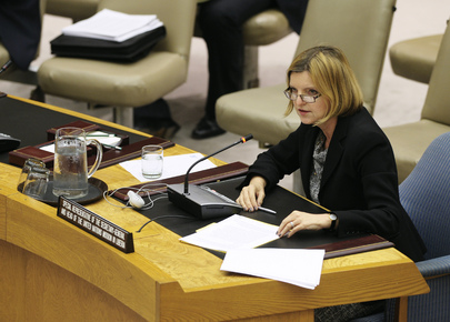 Security Council Debates the Situation in Liberia