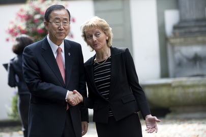 Secretary-General Meets Swiss President