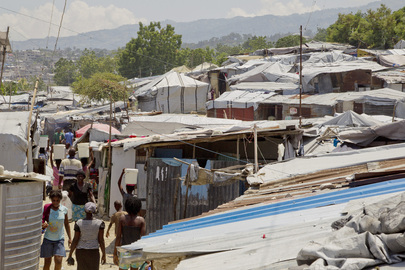 Government and International Agencies Help Relocate Displaced Haitians