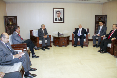 Joint Special Representative for Syria Meets Syrian Foreign Minister in Damascus