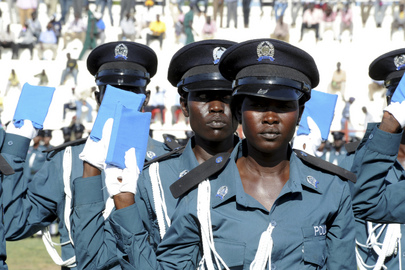 South Sudan Police Graduates Cadets