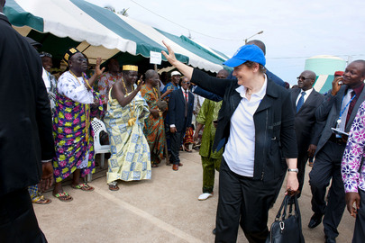UNDP Head Visits Côte d'Ivoire