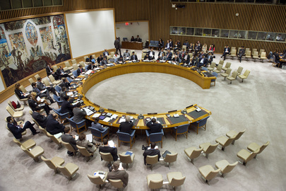 Security Council Considers Iran Sanctions