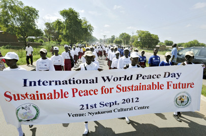 South Sudan Celebrates International Peace Day