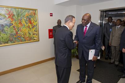 Secretary-General Meets Prime Minister of Mali