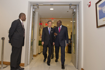 Secretary-General Meets Prime Minister of Mali