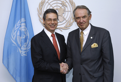 Deputy Secretary-General Meets Deputy Foreign Minister of Israel