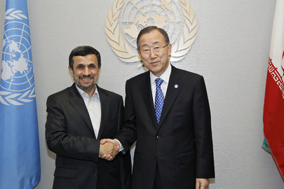 Secretary-General Meets with President of Iran