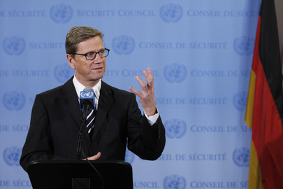 President of Security Council Briefs Media on Syria
