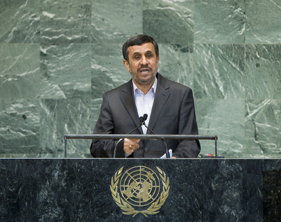 H.E. Mr.Mahmoud Ahmadinejad