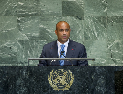 Prime Minister of Haiti Addresses Assembly's High-level Meeting on Rule of Law