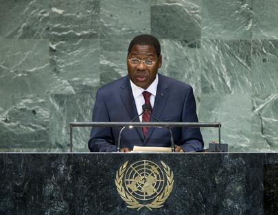President of Benin Addresses General Assembly