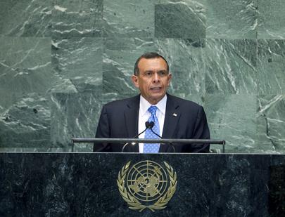 President of Honduras Addresses General Assembly