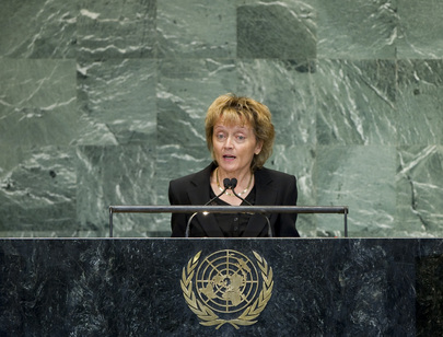 President of the Swiss Confederation Addresses General Assembly