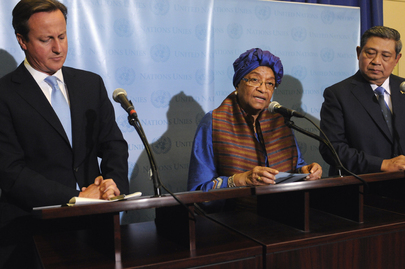 Co-Chairs of High-Level Panel on Post-2015 Development Agenda Brief Media