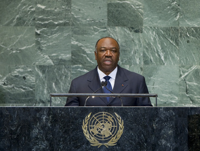 President of Gabon Addresses General Assembly