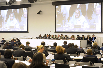 Prime Minister of Bangladesh Addresses High-Level Event on Peacebuilding