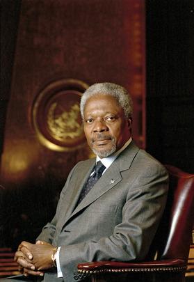 Secretary-General Kofi Annan, UN Photo # 52803
