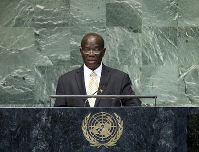 Vice-President of Uganda Addresses General Assembly