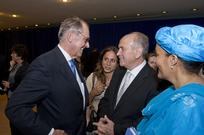 Deputy Secretary-General Hosts Reception for High-Level Panel on Development