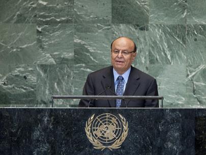 Presidente do Iêmen, Abdrabuh Mansour Hadi. Foto: ONU/Jennifer S. Altman