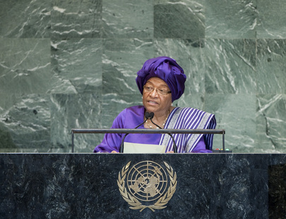 Ellen Johnson-Sirleaf