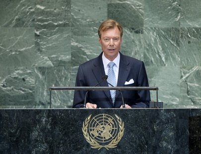 Grand Duke of Luxembourg Addresses General Assembly