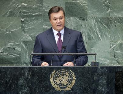 President of Ukraine Addresses General Assembly