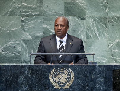 President of Ghana Addresses General Assembly