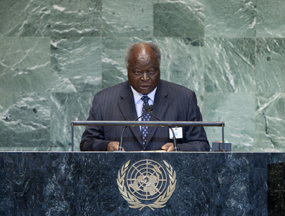 President of Kenya Addresses General Assembly