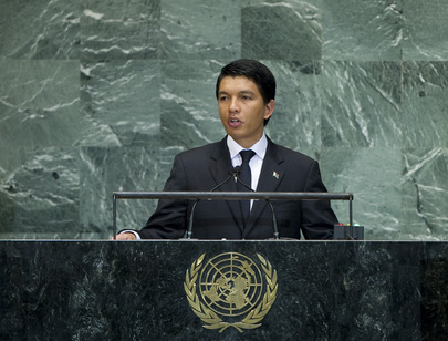President of Transitional Authority of Madagascar Addresses General Assembly