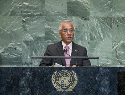 President of Kiribati Addresses General Assembly