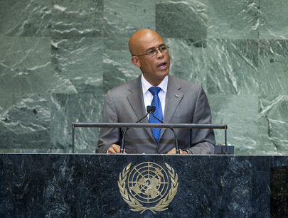 H.E. Mr.Michel Joseph Martelly