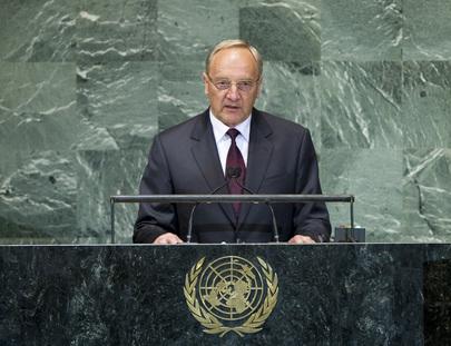 President of Latvia Addresses General Assembly