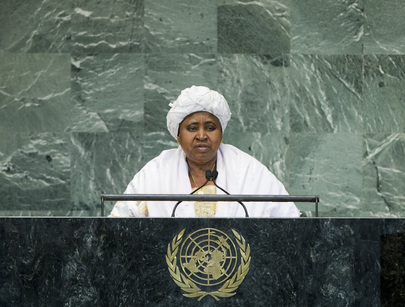 Vice-President of Gambia Addresses General Assembly