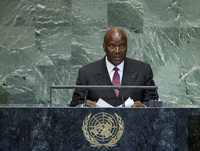 Foreign Minister of Côte d'Ivoire Addresses General Assembly