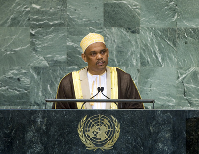 President of Comoros Addresses the General Assembly