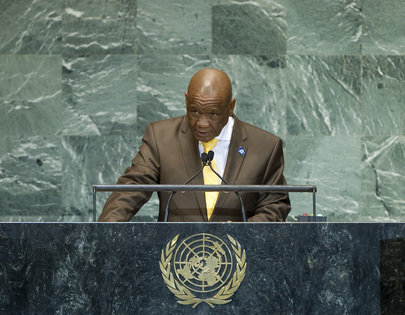 Prime Minister of Lesotho Addresses the General Assembly
