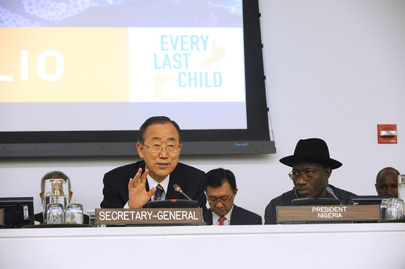 Leaders at UN Event Unite behind Final Push to Eradicate Polio