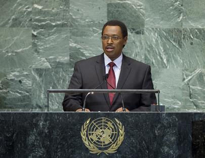 Vice-President of Burundi Addresses General Assembly