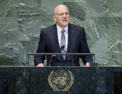 President of Council of Ministers of Lebanon Addresses General Assembly