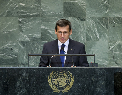 Foreign Minister of Turkmenistan Addresses General Assembly