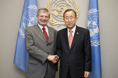 Secretary-General Meets Deputy Prime Minister of Malta