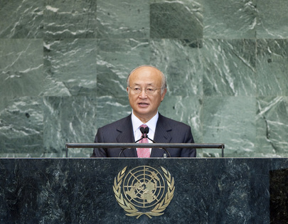 Head of IAEA Addresses High-level Meeting on Countering Nuclear Terrorism