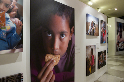 "Photo Exhibit on ""World Hunger: A Solvable Problem"""