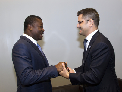 General Assembly President Meets President of Togo