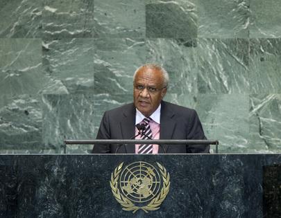Prime Minister of Vanuatu Addresses General Assembly