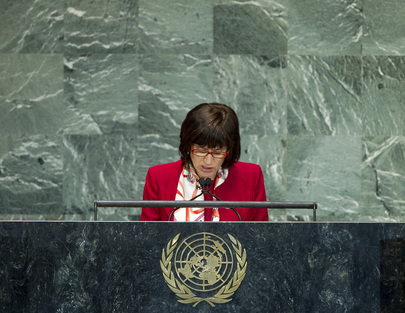 Foreign Minister of San Marino Addresses General Assembly