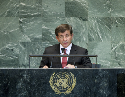 Foreign Minister of Turkey Addresses General Assembly